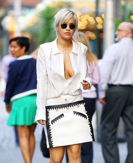 Singer, Actress @ Rita Ora - out and about in New York