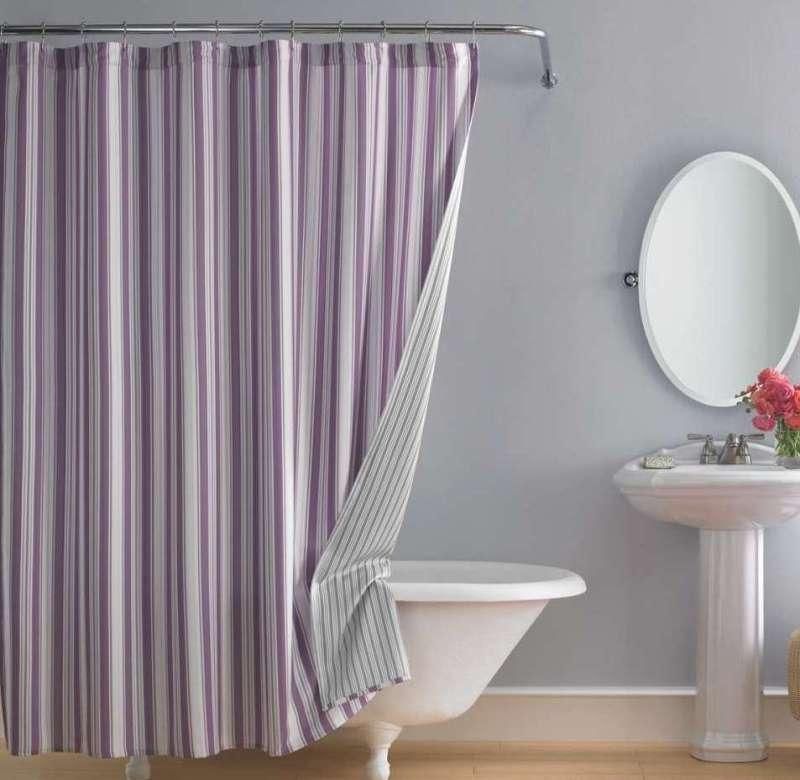 Modern Interior Design Luxurious Shower Curtain For Clawfoot Tub