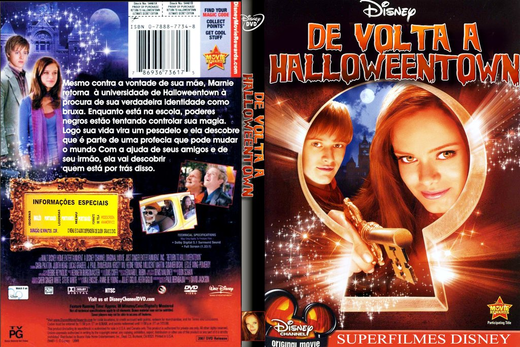 de volta a halloweentown