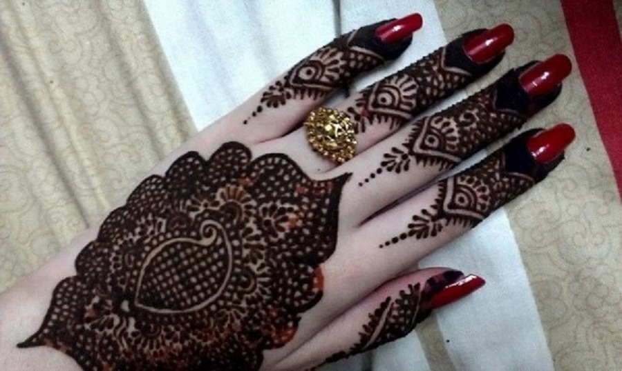 Bridal mehndi designs stylish hand mehndi designs for Stylish wallpaper designs