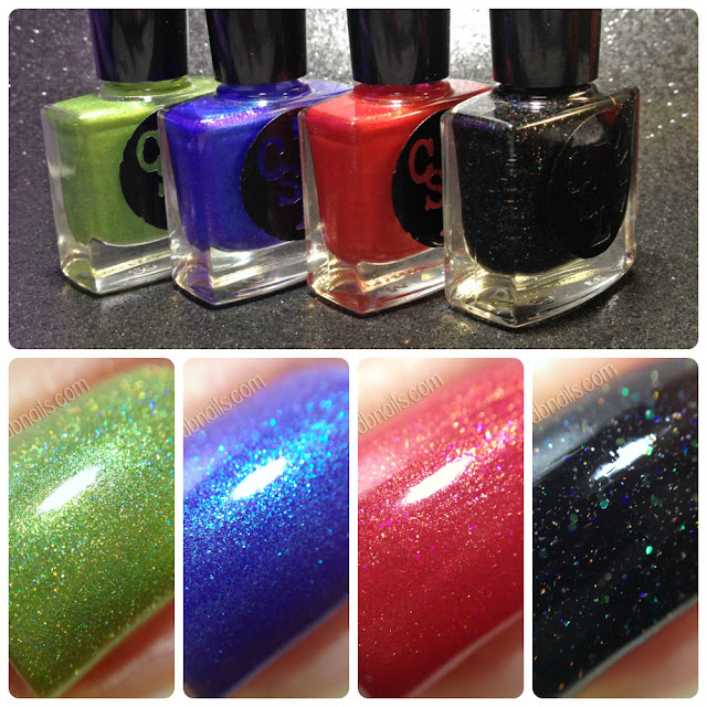 Cinema Swatch Lacquers-X-Philes Collection