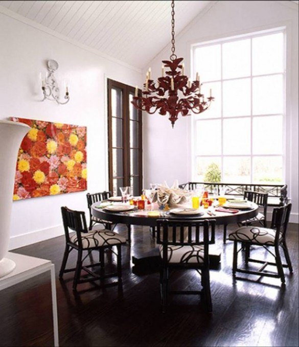 Choose Right Chandelier For Artistic Dining Room Designs