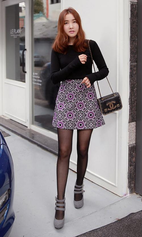 Suzani A-Line Midi Skirt