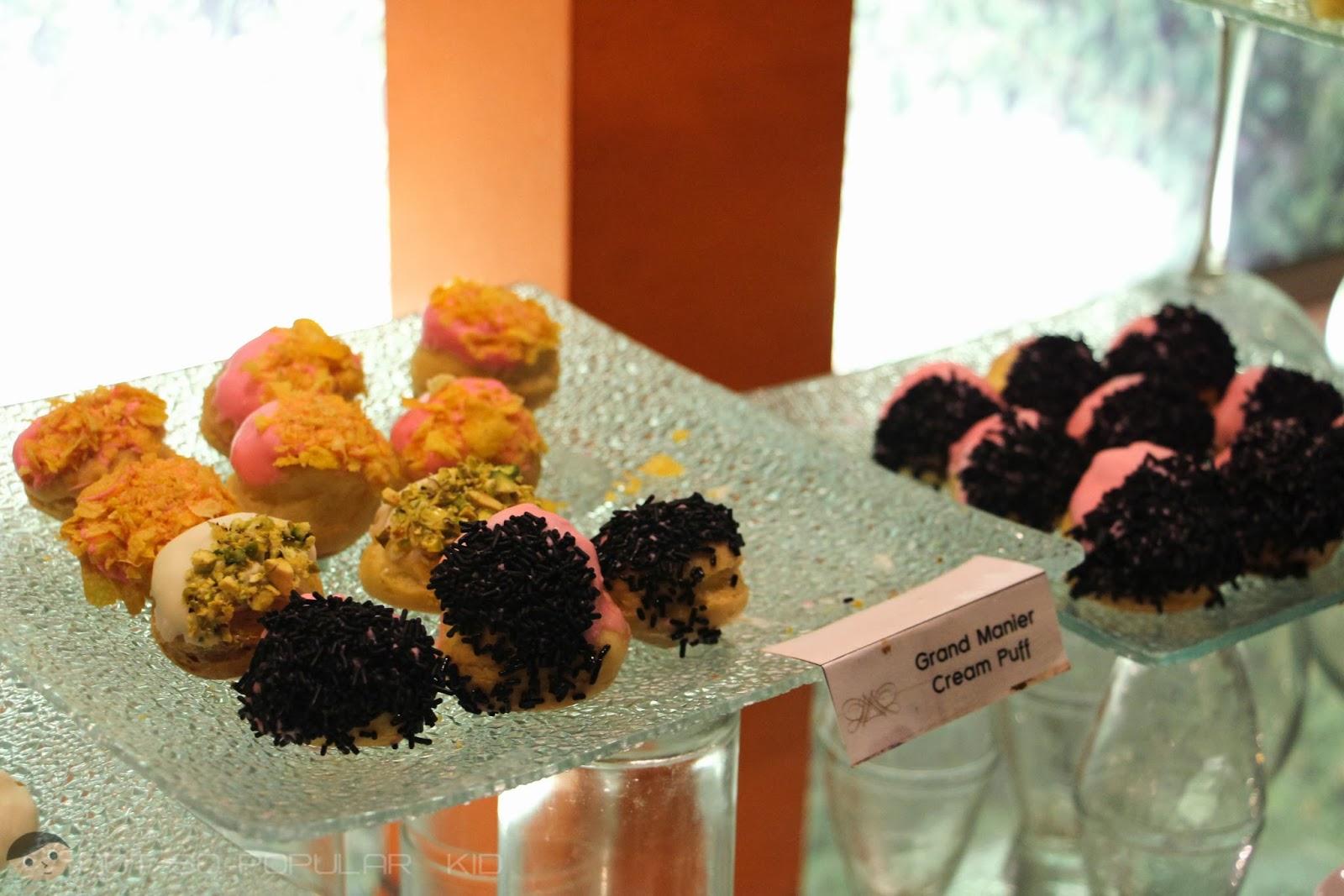 Dessert Bar Selection of Midas - Grand Manier Cream Puff