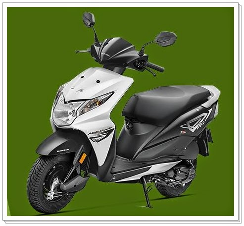 Honda Dio Black color