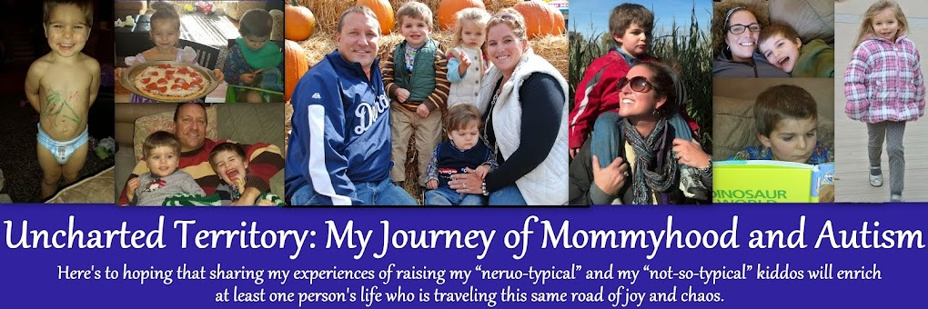 Uncharted Territory: My Journey of Mommyhood and Autism