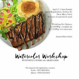 Watercolor Workshop @ Canto