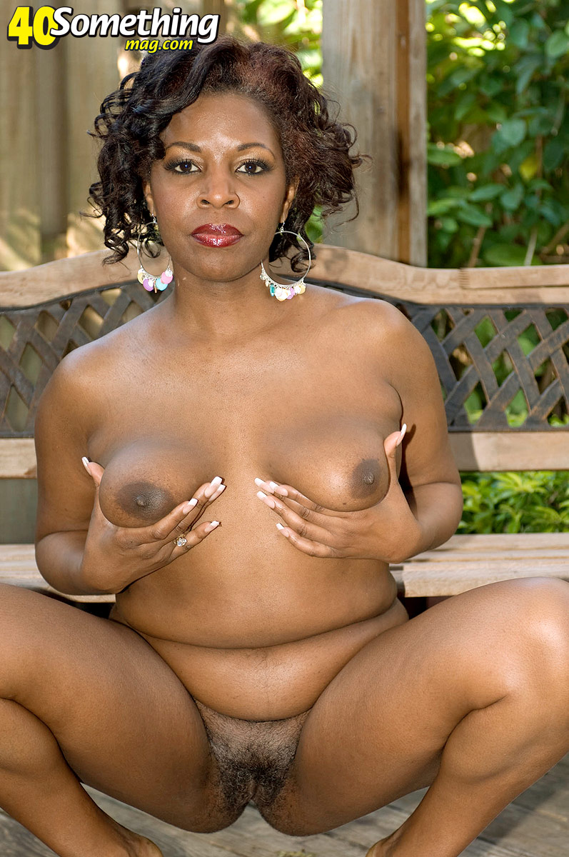 Old Mature Black Pussy