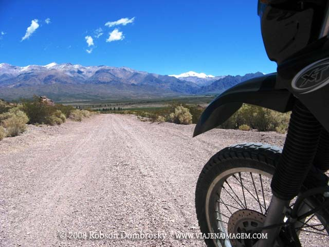 moto yamaha xt 600 na cordilheira dos andes