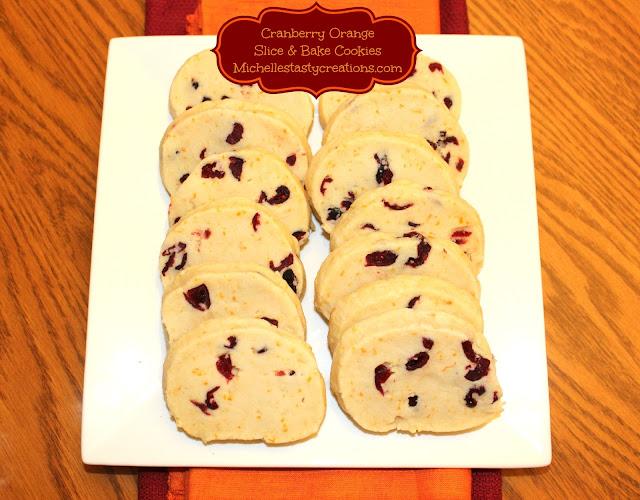 Michelle's Tasty Creations: Cranberry Orange Slice & Bake ...
