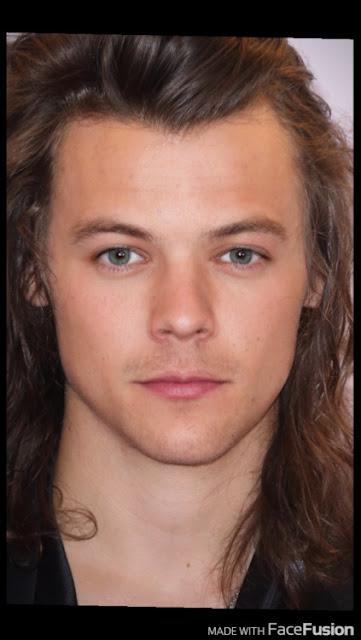 La foto de fusión entre Harry y Louis es impresionante, aseguran algunos fans.