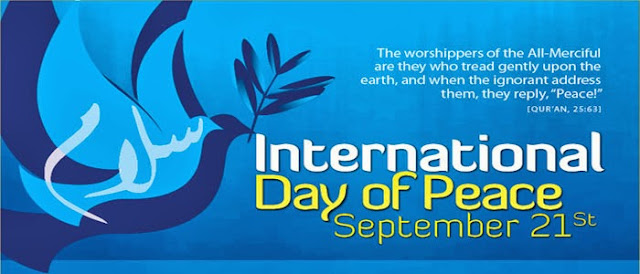 International Day of Peace observed on 21 September 2013