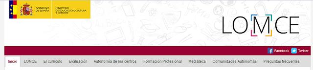 http://www.mecd.gob.es/educacion-mecd/mc/lomce/inicio.html