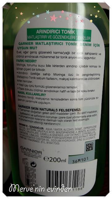 Garnier arındırıcı tonik