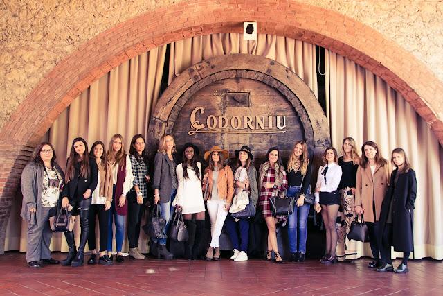 Rosa Clara y Codorniu encuentro bloggers #AnnadeCodorniubyRosaClara