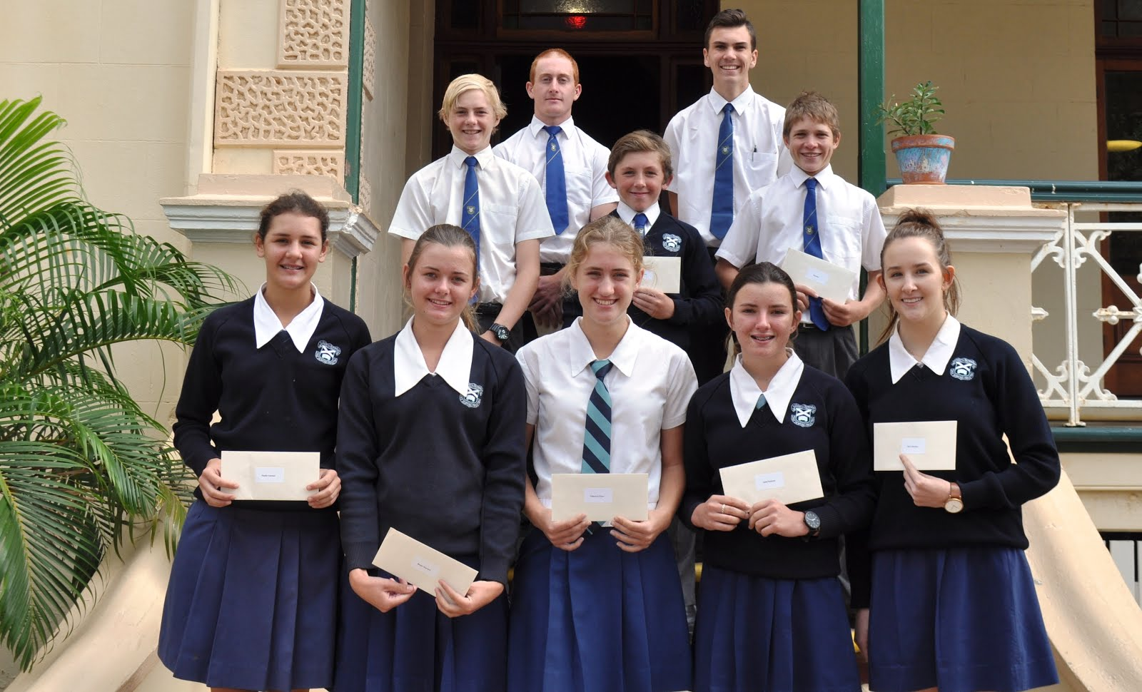 Colours and Half- Colours Awardees for Swimming and Cross Country