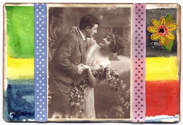 iHanna postcard swap 2013