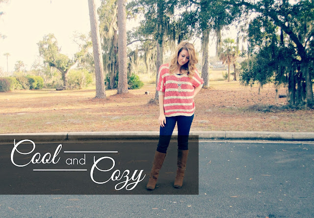 Cool & Cozy | A Slouchy Sweater