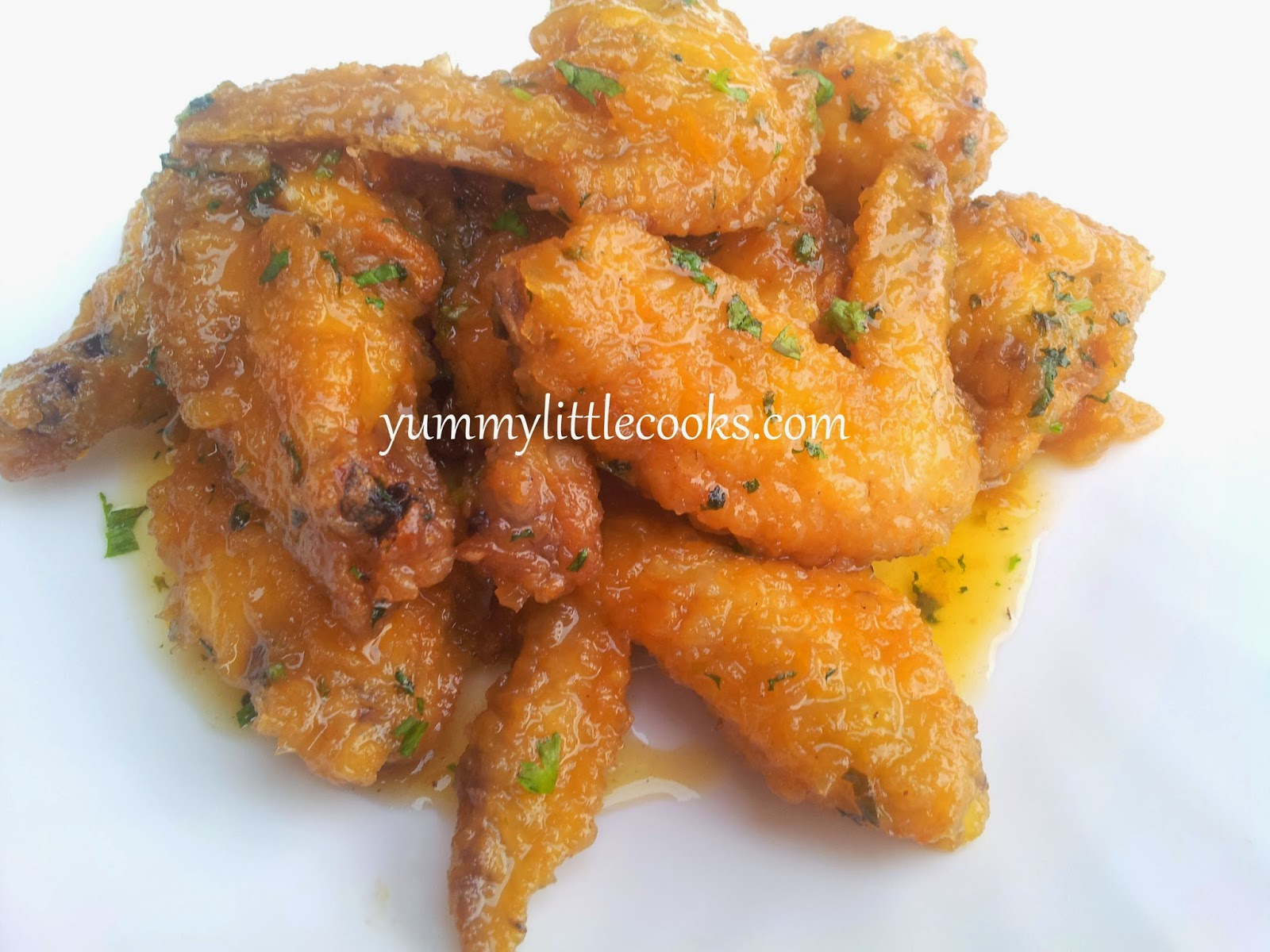 Honey Sprite Chicken WIngs