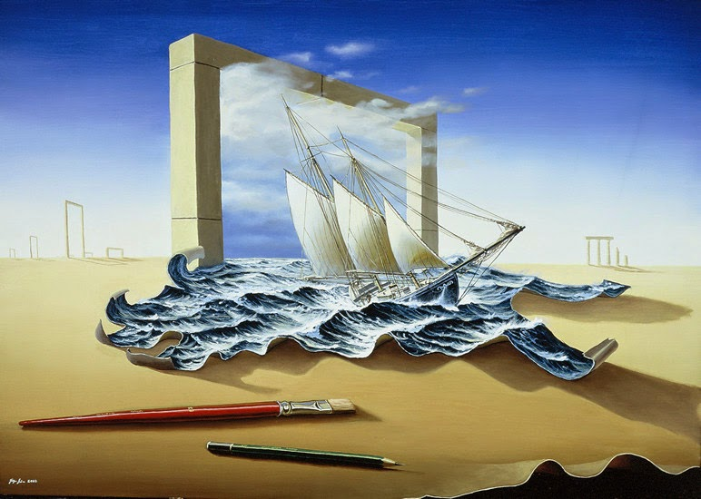 12-Jürgen-Geier-Ships-and-Maritime-Surreal-Paintings-www-designstack-co