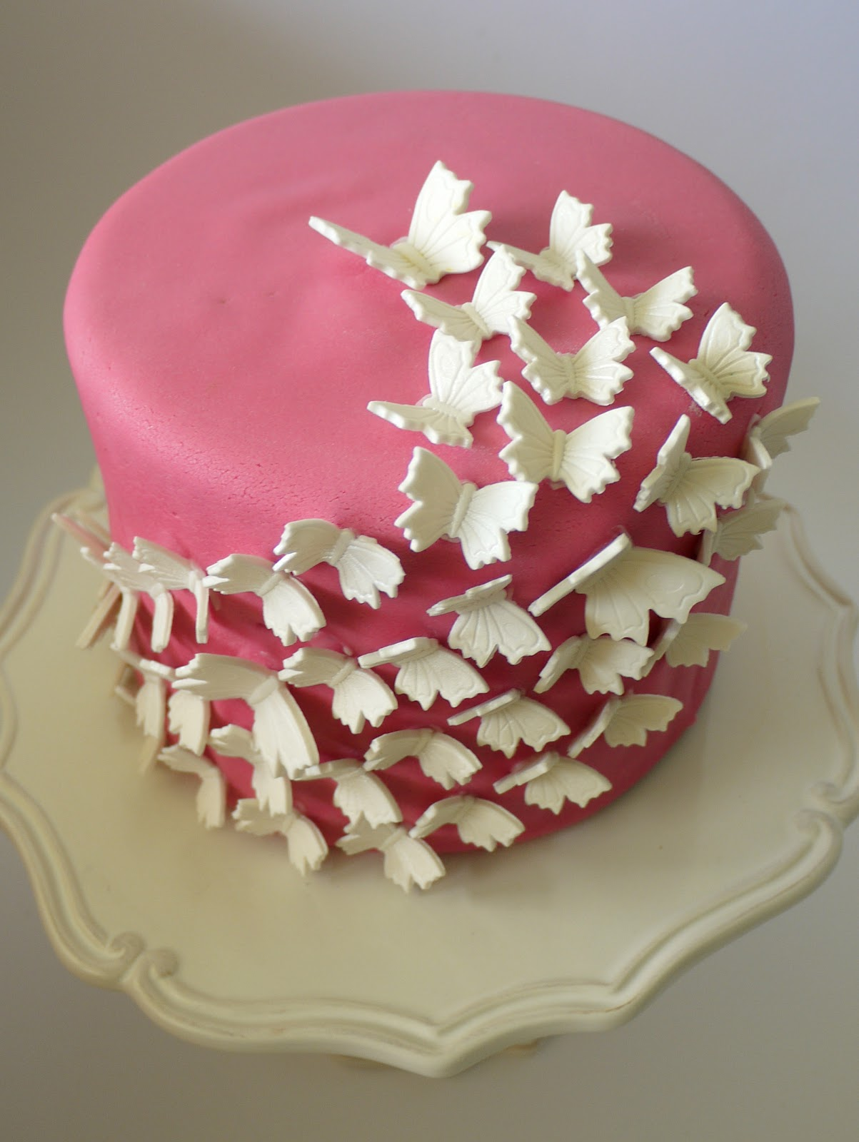 Butterfly Baby Shower Cake Images : Baby Shower Cakes: Baby Shower Cakes With Butterflies