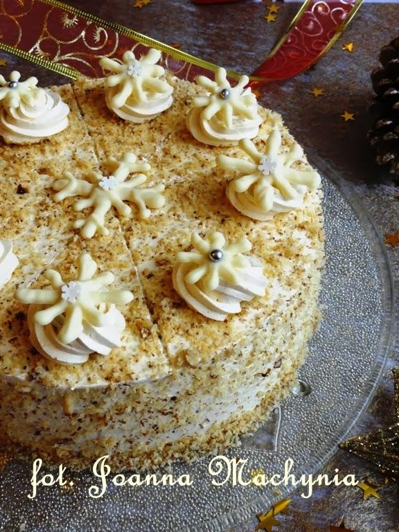 Ciasto Miodowo Orzechowe