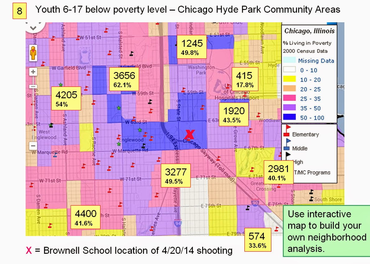 Tutor Mentor Institute LLC Follow up to Chicago Violence  Map