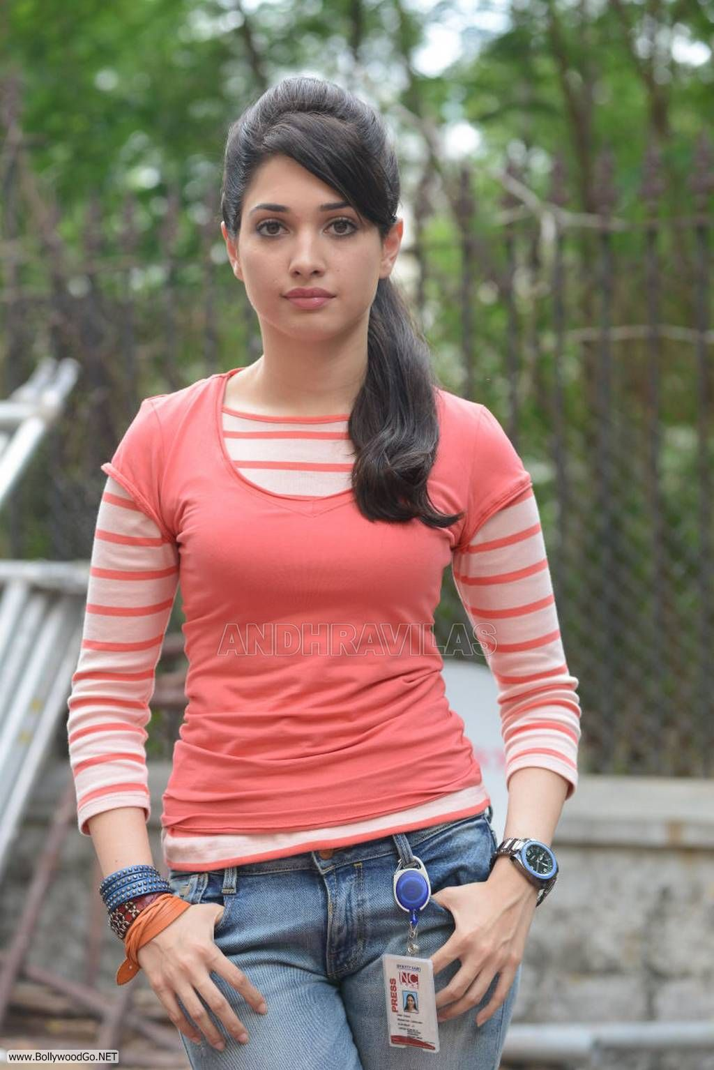 Tamanna in Jeans and O...