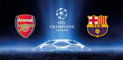 اهداف مباراة برشلونة وارسنال 3-1