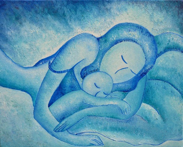 Blue Co-Sleeping by Gioia Albano 2011