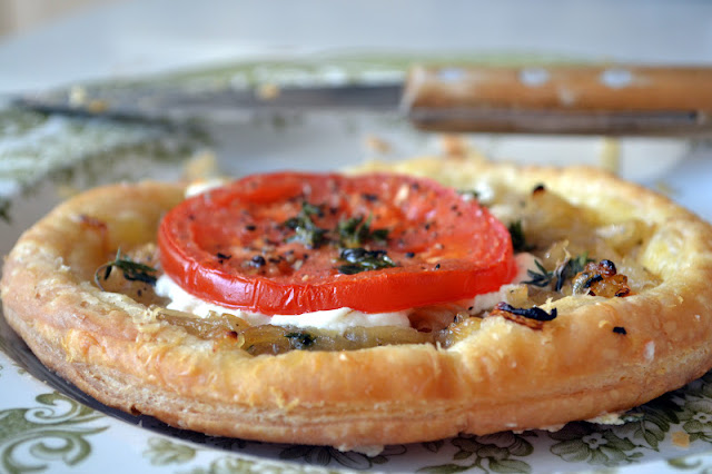 Caramelized Onion And Goat Cheese Tarts The View From: ina garten goat cheese tart