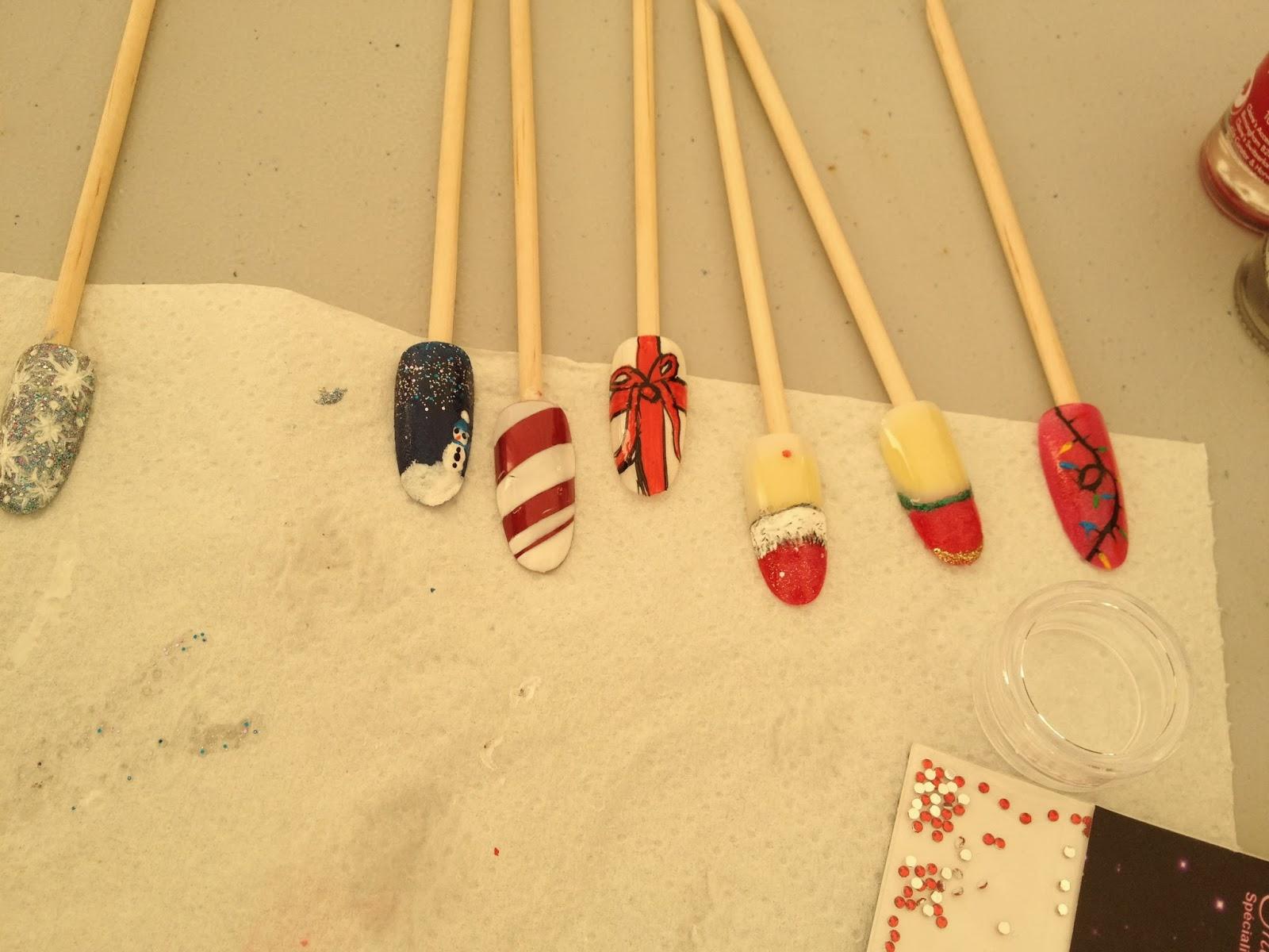 Ateliers nail art Décembre et Janvier15
