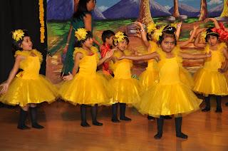 celebration of annual day in mapple bear school