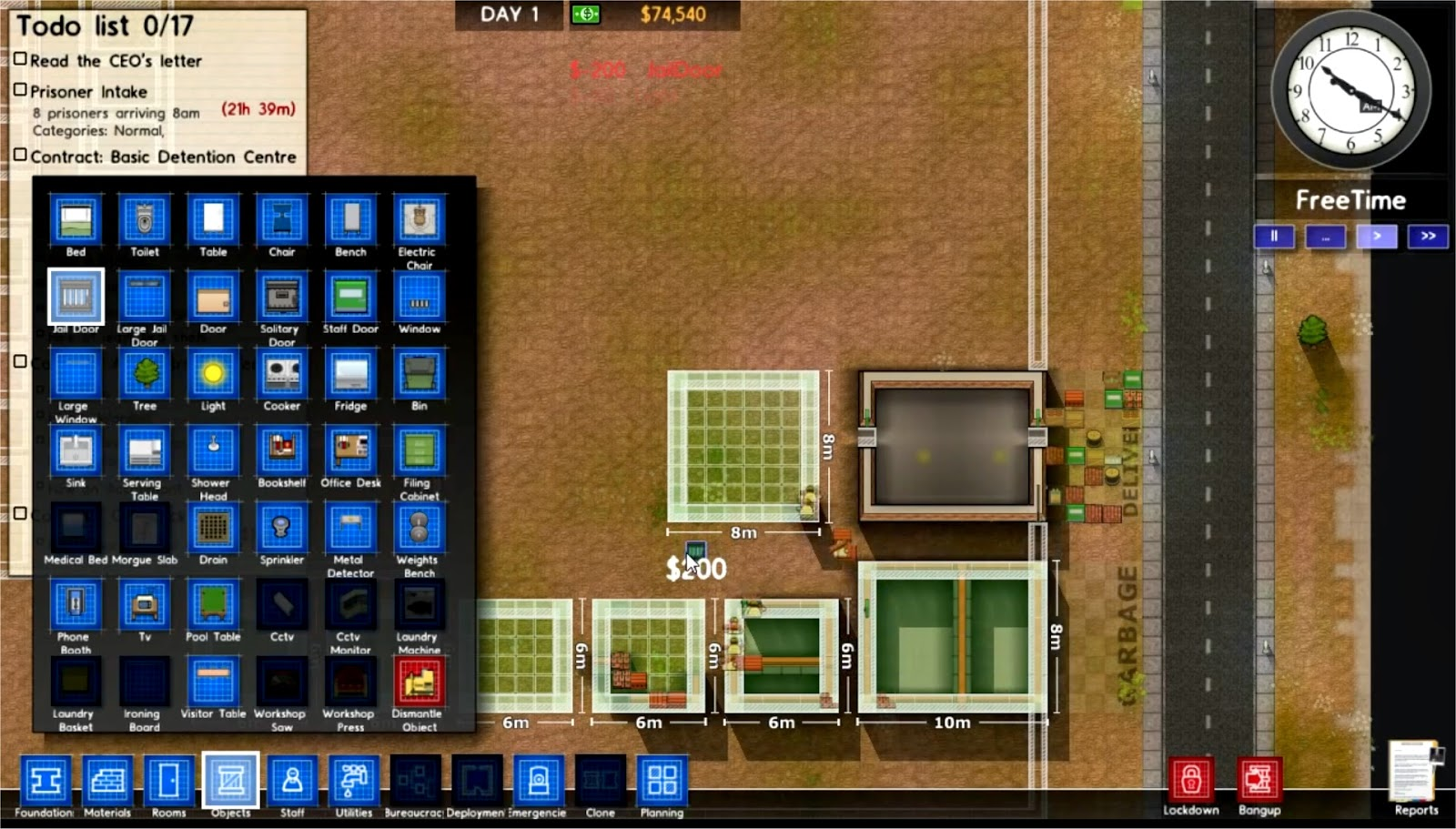 Prison Architect Building