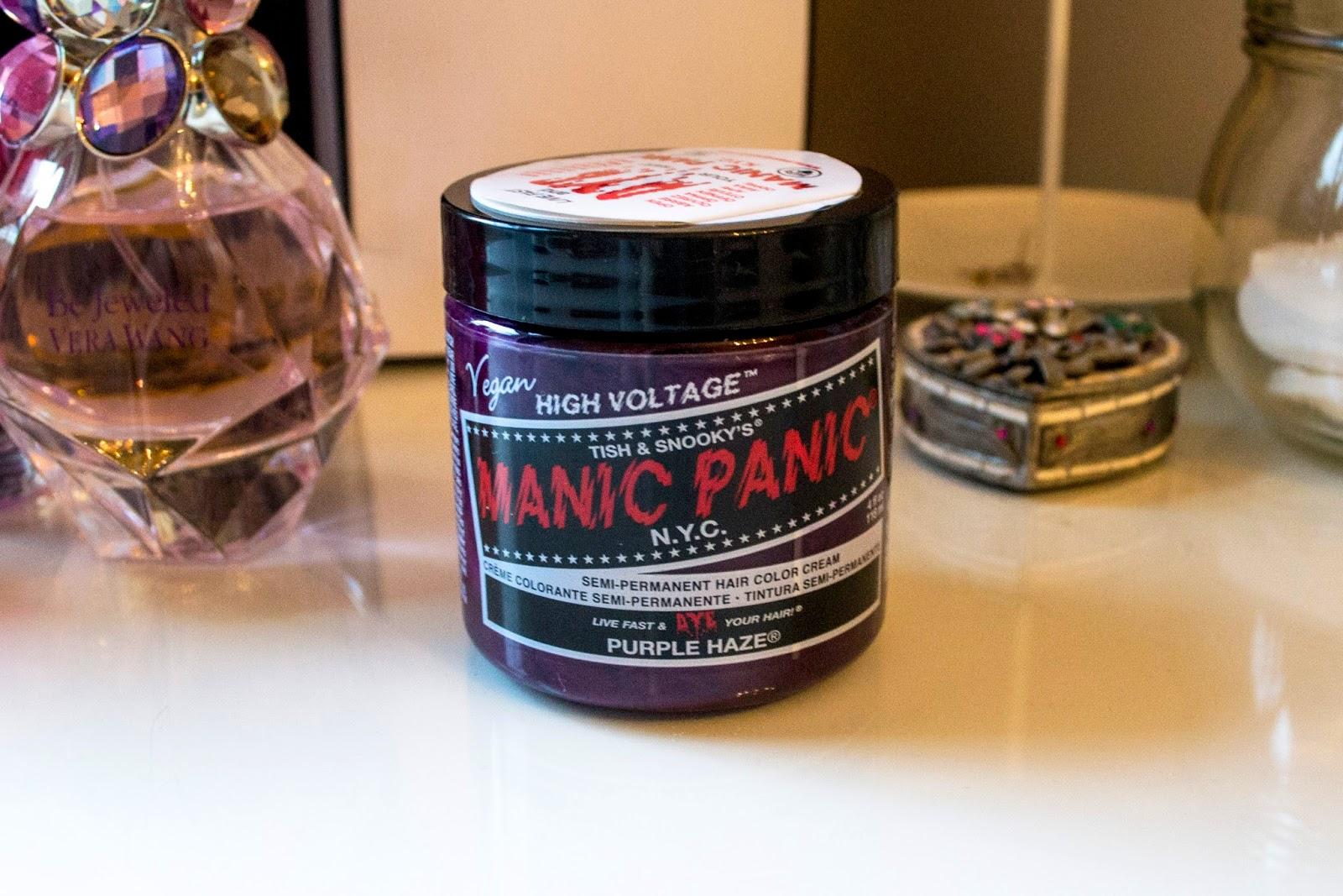 Manic Panic Purple Haze Review, Lavender Hair