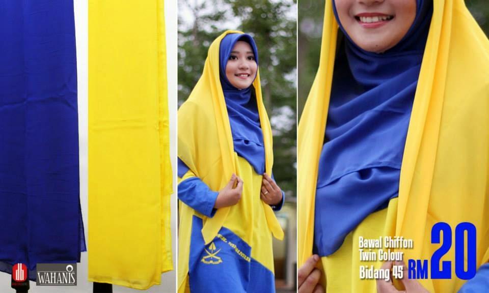 fesyen muslimah pemiant bolasepak