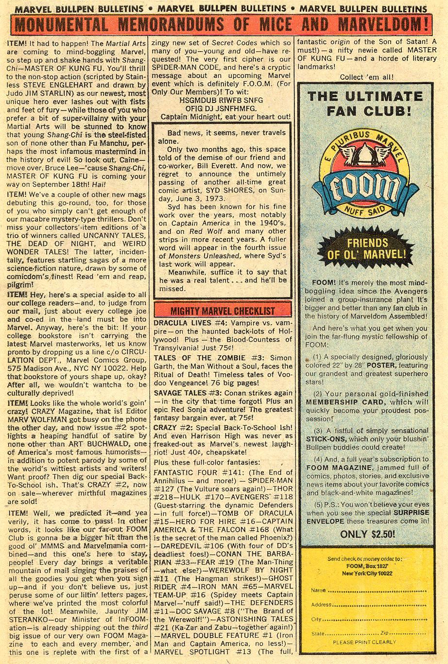 Conan the Barbarian (1970) Issue #33 #45 - English 20