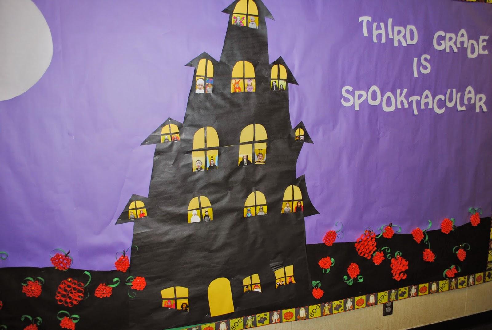Inspiration for Education: Halloween Bulletin Board