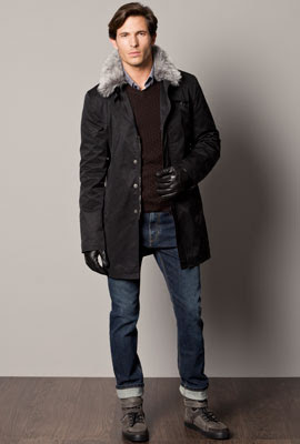 colección abrigos Caramelo hombre otoño invierno 2012 2013