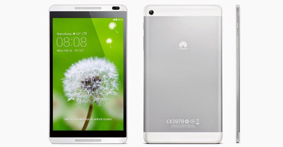 Huawei MediaPad M1 Tablet Android Harga Rp 3 Jutaan