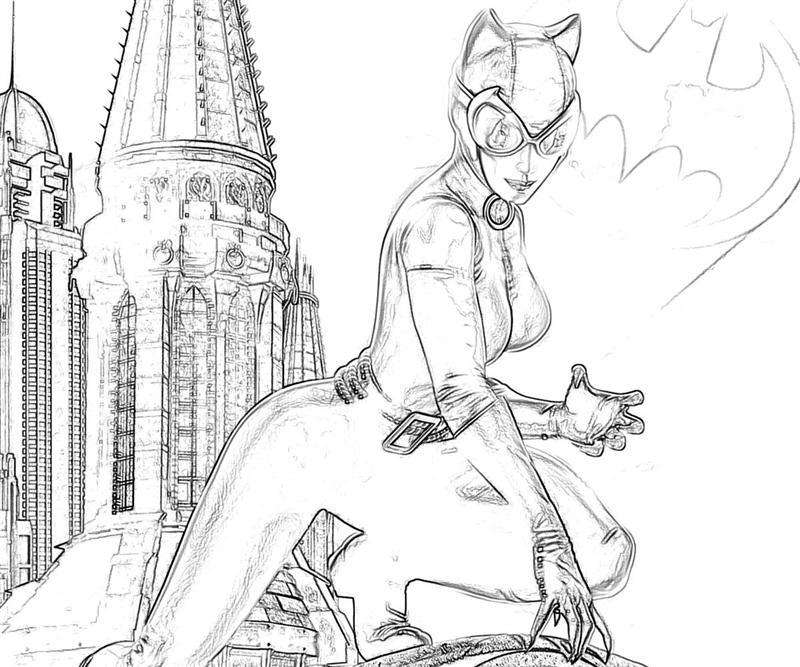 printable-batman-arkham-city-catwoman-armor_coloring-pages