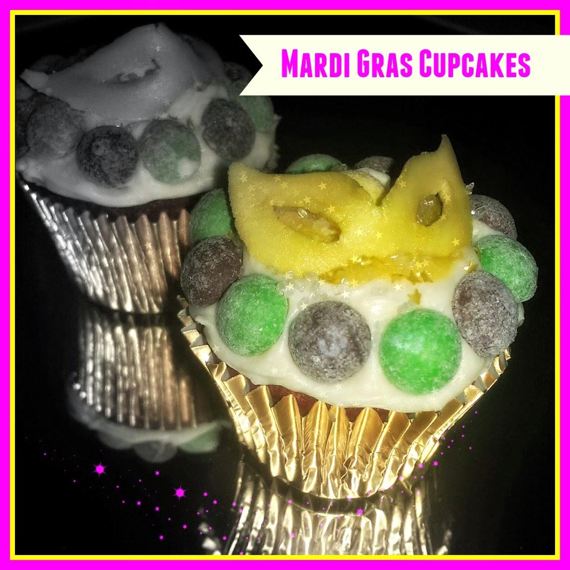 Mardi Gras Goodies ~ PoppyCakes