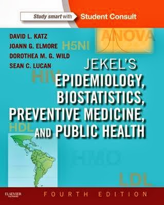 Jekel Dịch tễ học, Thống kê sinh học, Y học dự phòng và Y tế công cộng 4e