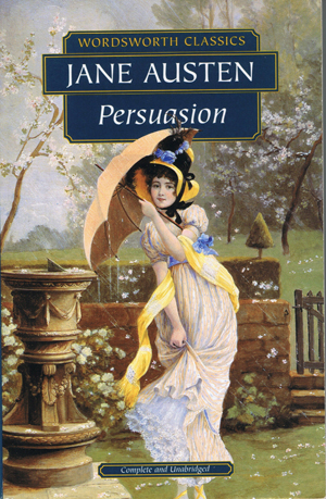 "persuasion by jane austin Free essay: in the early 1800s jane austen wrote what would be her last novel, persuasion persuasion is set during the ""georgian society"" which greatly."