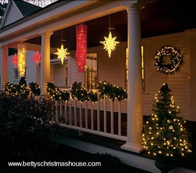 Arquitectura de casas adornos para navidad en interiores - Decoracion navidena para exteriores ...