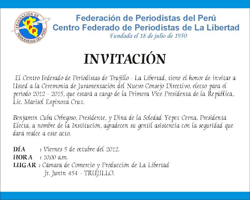 Tarjeta De Invitacion Al Acto Por El Dia De La Bandera | MEJOR