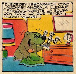 "El oso ""profesor""..."