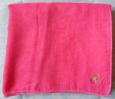 Hadiah tudung dari blogger Shida, tudung pink