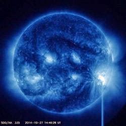 MANCHA SOLAR 2192, 28 DE OCTUBRE 2014