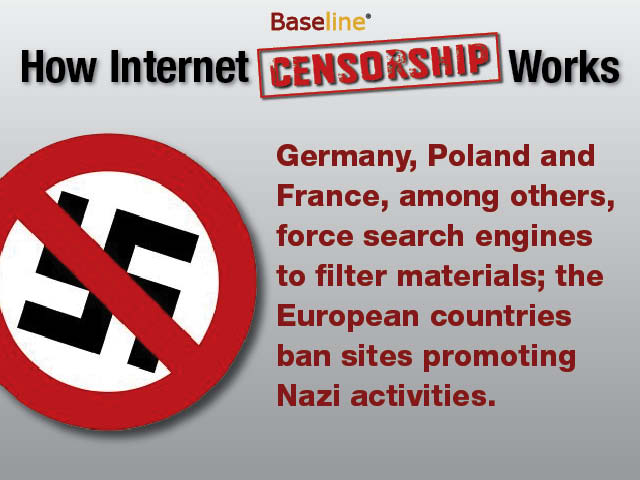 a debate on the need of censorship of the internet